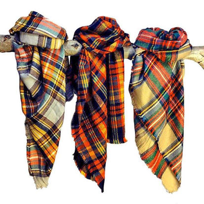 How to wear a blanket scarf without making us want to run for cover how to wear a blanket scarf without making us want to run for cover ccuart Image collections